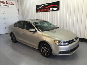 2013 Volkswagen Jetta Highline TDI/DIESEL/LEATHER/NAVIGATION