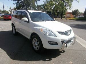 2011 Great Wall X240 CC6461KY MY11 (4x4) Titanium White 5 Speed Manual Wagon Alberton Port Adelaide Area Preview