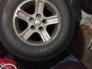 ***Snow is coming!    Chrysler/Ram Winter Tires and Rims
