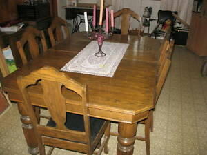 CUSTOM BUILT DINING ROOM SET
