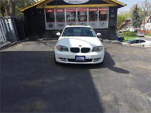 2008 BMW 1 Series 128i MSPORT PCK ONE OWNER AUTOMATIC CERTIFIED