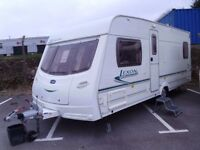 2005 Lunar Lexon EB FIXED BED Inc an Awning and Bedroom Annex