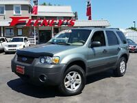 2006 FORD ESCAPE XLT LEATHER SUNROOF
