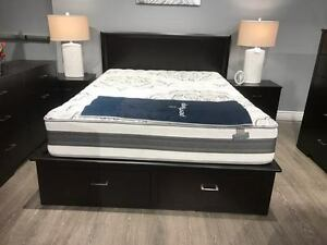 BRAND NEW CANADIAN MADE BED WITH STORAGE!!! COLORS AVAILABLE Kitchener / Waterloo Kitchener Area image 2