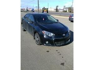 2014 Toyota Corolla S DRIVE AWAY TODAY EVEN WITH BAD CREDIT!