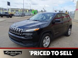 2015 Jeep Cherokee 4WD SPORT Accident Free,  Heated Seats,  Back