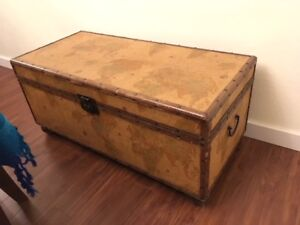World map trunk