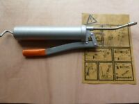 PUMP ACTION GREASE GUN - GOOD CAPACITY SIDE LEVER ACTION - MADE by PRESSOL