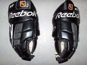 Adult Hockey Equipment - Gloves and Shin Pads