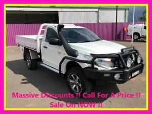 2016 Mitsubishi Triton MQ MY16 GLX (4x4) White 6 Speed Manual Cab Chassis Dubbo Dubbo Area Preview
