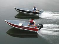 Great selection of LUND utility boats!