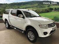 2014 MITSUBISHI L200 TROJAN DCB DI D 4X4 TruckMan Back Bluetooth Alloys Air Con