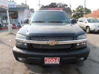2004 Chevrolet AVALANCHE 4WD Leather Sunroof Black 202,000km
