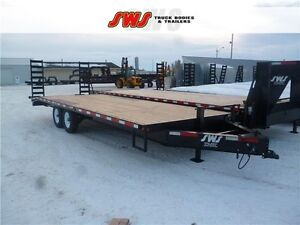 8.5x24 Deck Over The Wheels Trailer