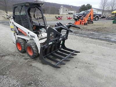 New Cid Xtreme Root Grapple For Bobcat Mt50 Mt52 Mt55 463 S70 Mini Skid Steer