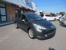 2008 Peugeot 207 A7 XE Gun Olive 4 Speed Auto Seq Sportshift Hatchback Wangara Wanneroo Area Preview