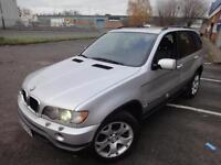 LHD 2001 BMW X5 3.0i Sport Auto 4x4 Petrol UK REGISTERED