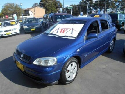 2003 Holden Astra TS CD 5 Speed Manual Hatchback Greenacre Bankstown Area Preview