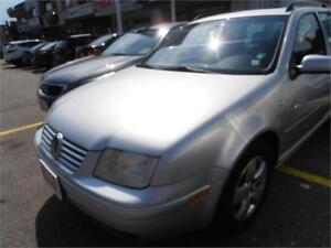 2003 Volkswagen Jetta Leather Sunroof Silver 206,000Km