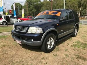 2002 Ford Explorer UT XLT (4x4) Blue 5 Speed Automatic Wagon Clontarf Redcliffe Area Preview