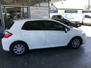 2012 Toyota Corolla ZRE152R MY11 Ascent White 4 Speed Automatic Hatchback Hamilton Newcastle Area Preview