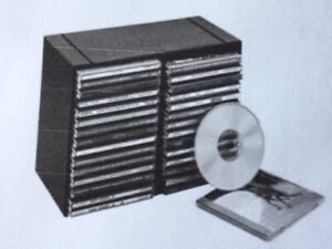 CD Plastic storage trays - Case Logic