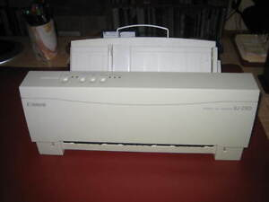 Canon Bubble Jet printer BJ230 West Island Greater Montréal image 1