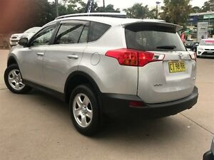 2013 Toyota RAV4 ZSA42R GX (2WD) Silver Continuous Variable Wagon Dee Why Manly Area Preview