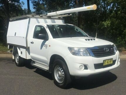 Toyota Hilux SR single Cab 4x4 Diesel manual 2013 ex-Telstra.  MY14 upgrade - LOCATED AT MACKSVILLE  Macksville Nambucca Area Preview