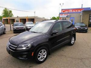 2014 VOLKSWAGEN TIGUAN SUV CLEAN AUTO 4 CYL EASY CAR FINANCE