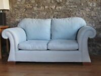 Quality Linen/Cotton Sofa and Chair