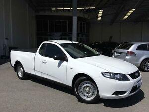 2011 Ford Falcon FG MK2 (LPi) Winter White 6 Speed Automatic Utility Beckenham Gosnells Area Preview