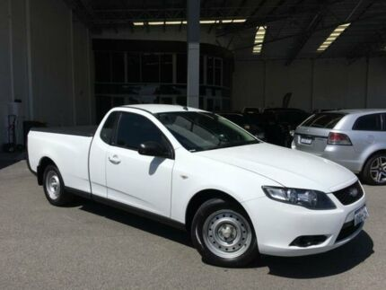 2011 Ford Falcon FG MK2 (LPi) Winter White 6 Speed Automatic Utility