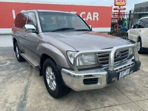 2004 Toyota Landcruiser Silver Automatic Wagon Heidelberg Heights Banyule Area Preview