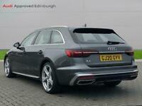 2020 Audi A4 40 Tfsi S Line 5Dr S Tronic Auto Estate Petrol Automatic