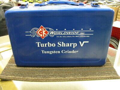 Tig Welding Tungsten Electrode Grinder Turbo Sharp V By Ck Worldwide