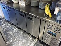 Polar 4 Door Counter Fridge 553 Ltr - G598 Catering Four Door