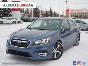 2018 Subaru Legacy Limited. Low Kms. Sunroof. Driver Assist. Hea