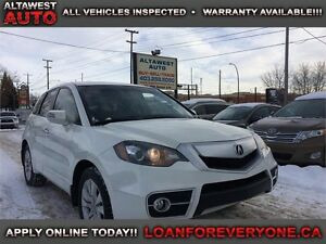 2011 Acura RDX AWD 4DR leather/sunroof