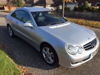 2005 55 Mercedes CLK220 CDI Avantgarde Low Mileage Full Service History Excellent Condition