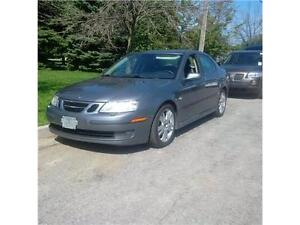 2007 Saab 9-3 Auto/ Leather/Sunroof/Certified & Emissions