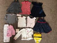 Girls bundle 2-3 (Ralph Lauren, Gap, Bambini, junior J, JoJo Maman Bebe) dresses, bikini (13 items)