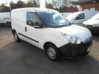 Vauxhall Combo 2000 1.3 CDTI 16V H1 VAN DIESEL MANUAL WHITE (2012)
