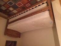 M & S pine hideaway beds