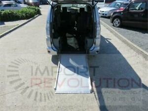 2006 Toyota Voxy Welcab Silver Constant Variable Wagon