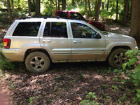 2003 4x4 Jeep Grand Cherokee Overland package