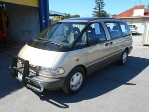 1990 Toyota Tarago TCR11R GLX Gold 4 Speed Automatic Wagon Christies Beach Morphett Vale Area Preview