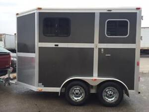 2012 Two-Horse Eclipse Trailer
