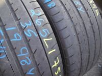 265/35/18 Toyo Proxes T1, Audi, XL x2 A Pair, 5.0mm (156 Rayne Road, Braintree, CM7 2QS) Second Hand
