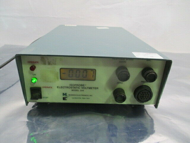 Monroe 244A-2 Isoprobe Electrostatic Voltmeter, 453603